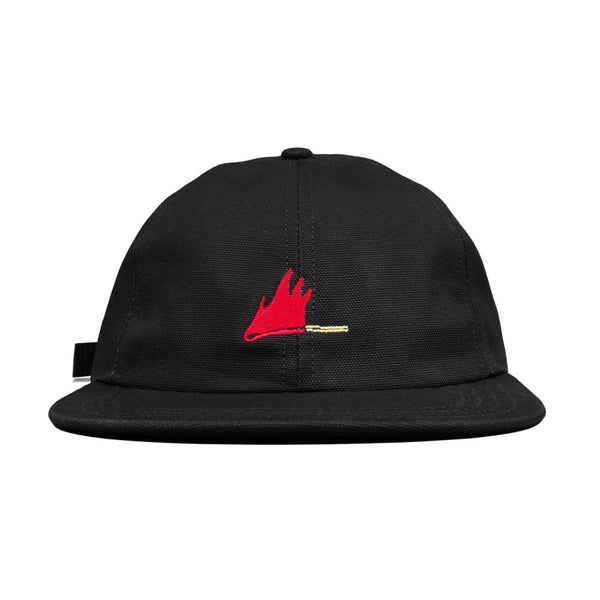 Blacksmith - Kushida Match 6 Panel Cap - Black