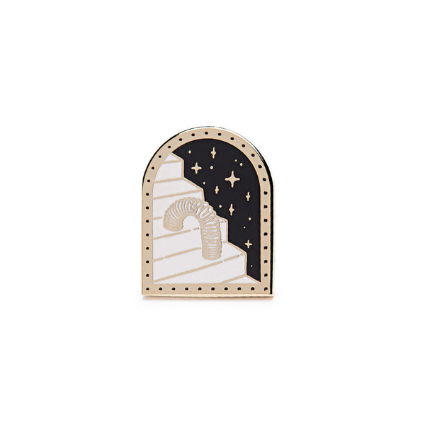 Mean Folk - Stairway To Heaven Enamel Pin