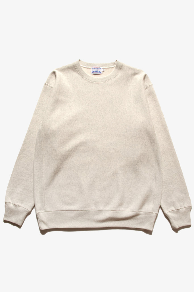 Power House - 12oz Crewneck - Ecru Ash