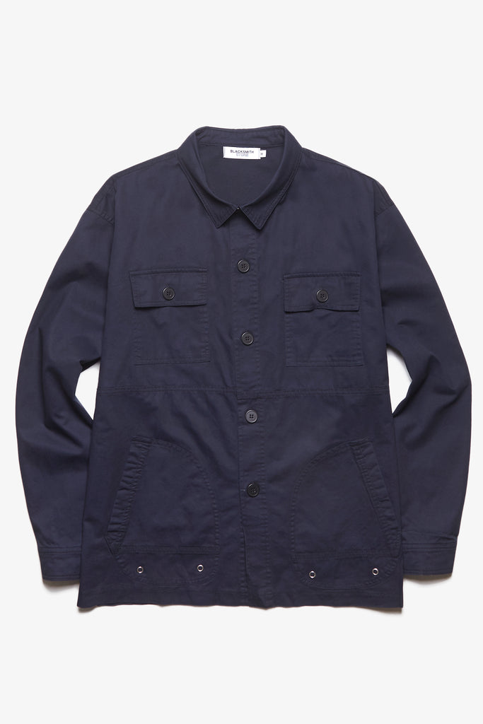 Blacksmith - Safari CPO Overshirt - Navy