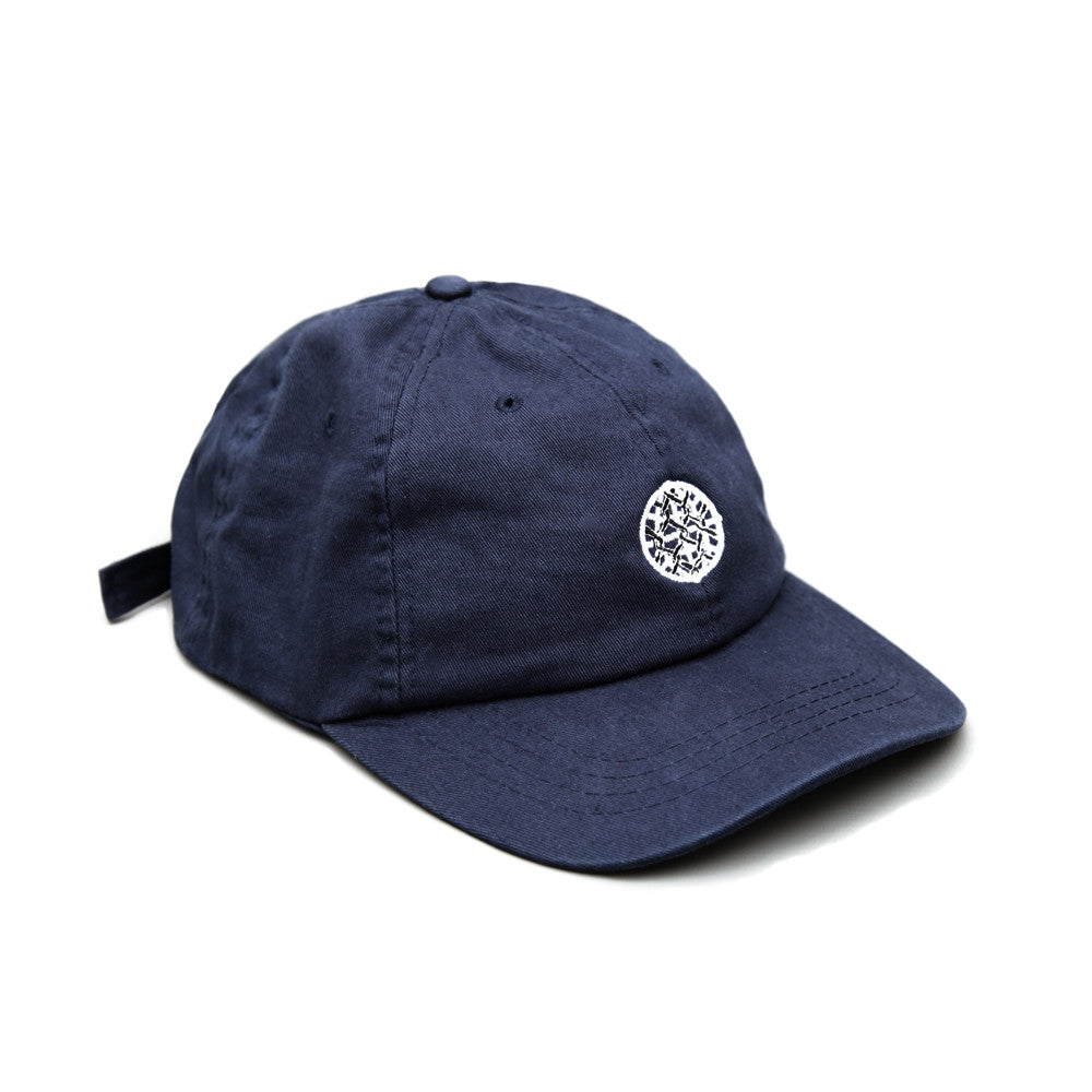 Blacksmith - Globe Strapback Cap - Navy