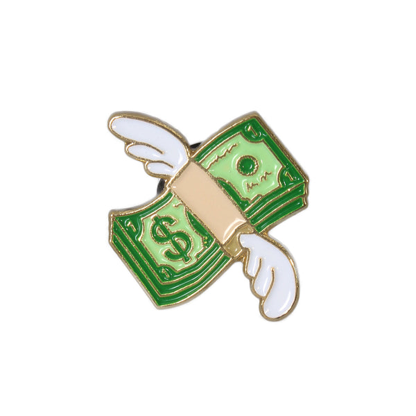 No Fun - Flying Cash Pin