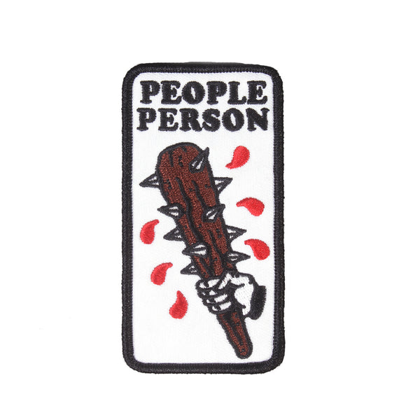No Fun -  People Person Patch
