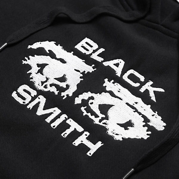 Blacksmith - Occhi 12oz Hoodie - Black