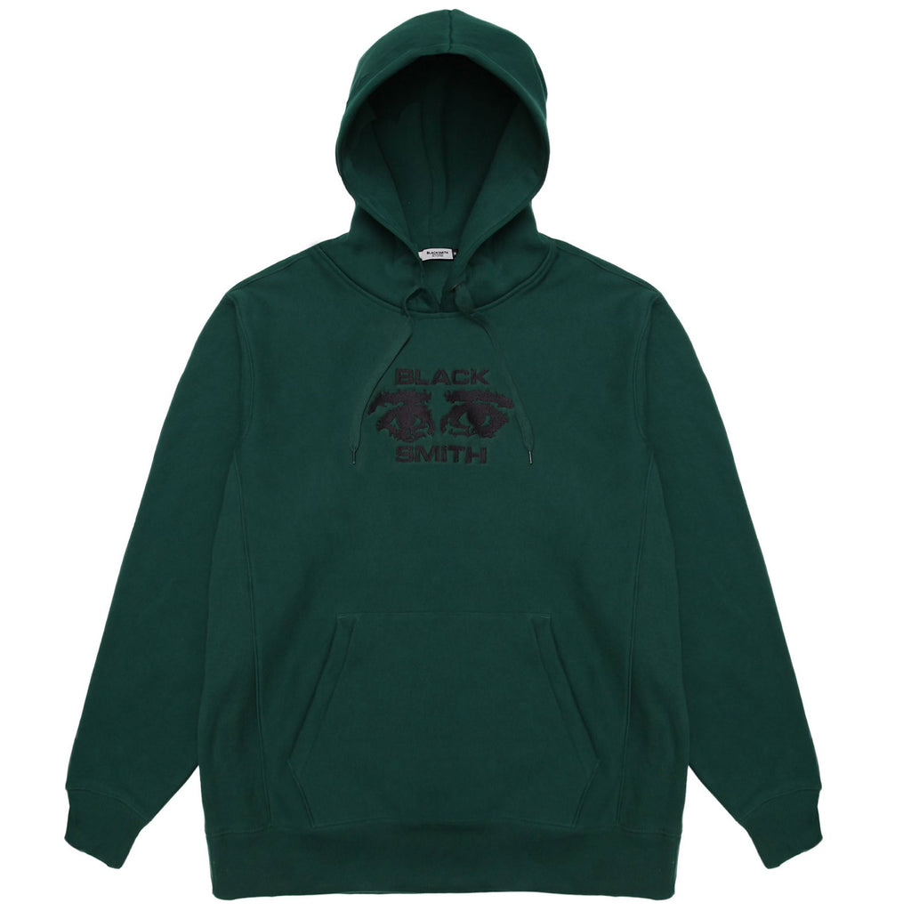 Blacksmith - Occhi 12oz Hoodie - Forest Green