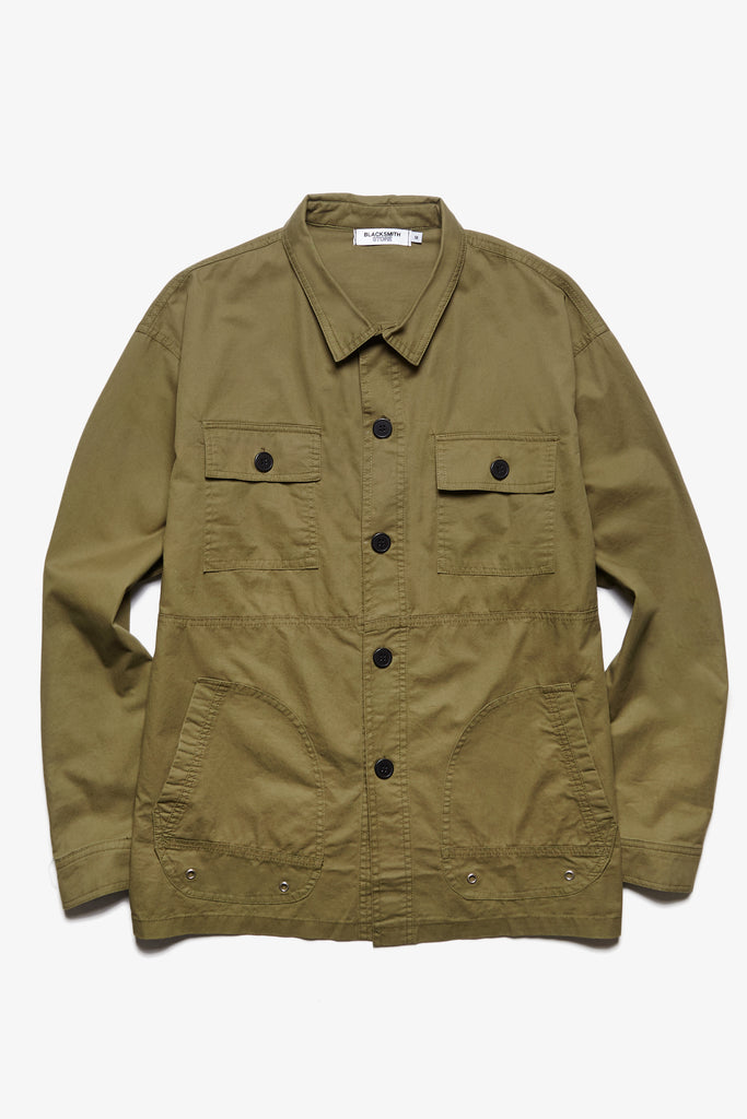 Blacksmith - Safari CPO Overshirt - Olive