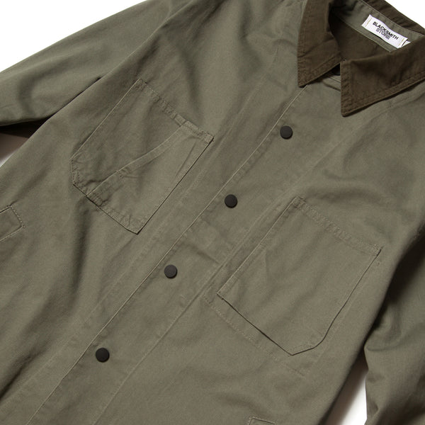 Blacksmith - Canvas Work Jacket - Olive