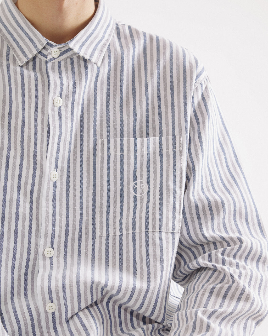 Overall Union - Box Button Down Shirt - Grey