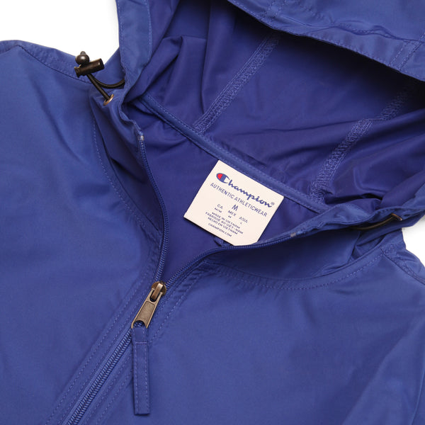 Champion - Packable Hooded Anorak Jacket - Royal
