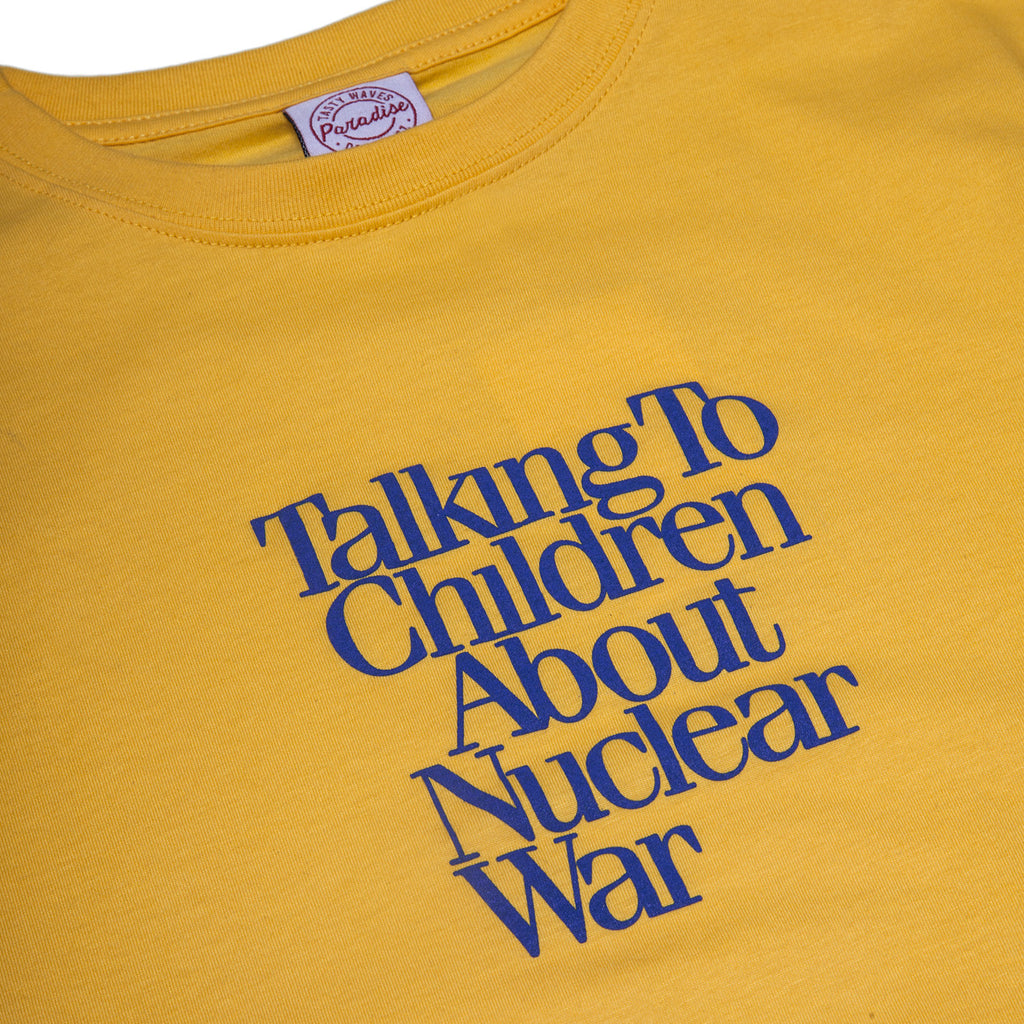 Paradise Youth Club - Nuclear War Tee - Yellow