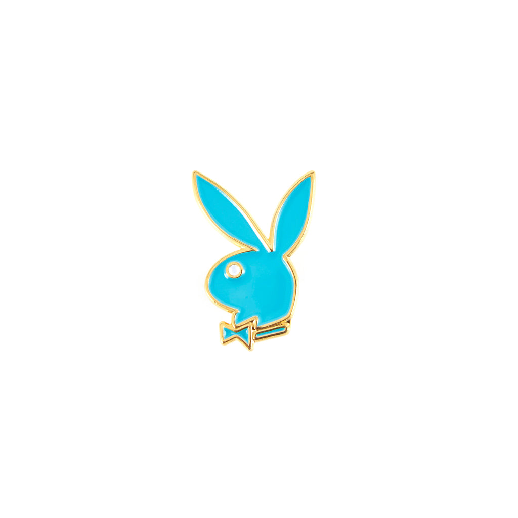 Good Worth & Co - Playboy Teal Rabbit Head Pin