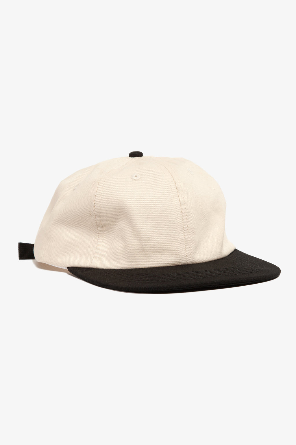 Power House - Perfect 6-Panel Cap - Natural/Black