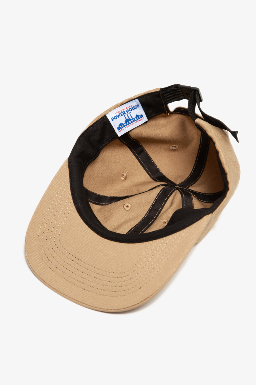Power House - Perfect 6-Panel Cap - Tan