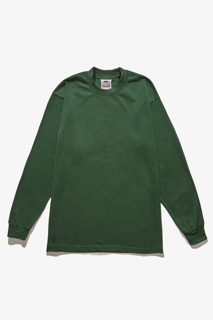 Pro Club - Heavyweight Long Sleeve T-Shirt - Forest Green