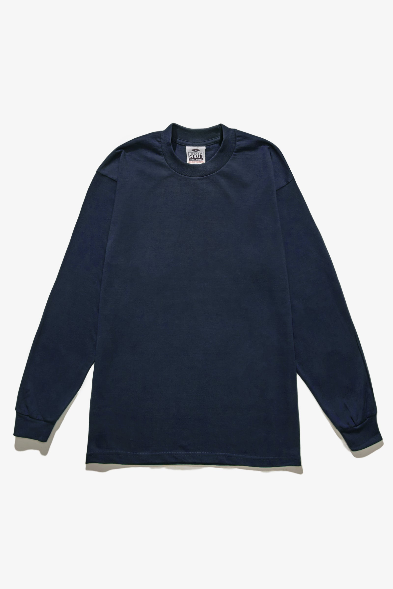 Pro Club - Heavyweight Long Sleeve T-Shirt - Navy