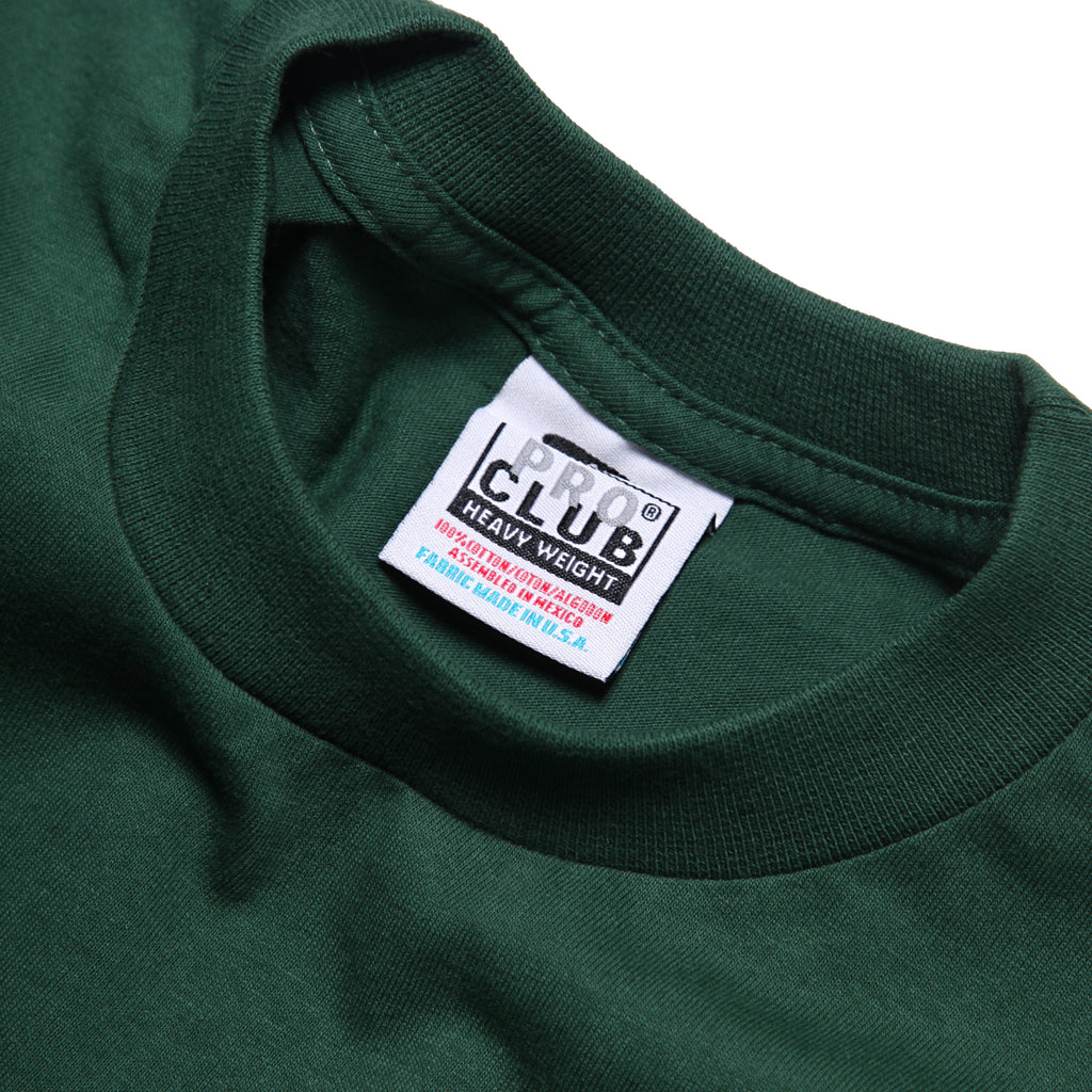Pro Club - Heavyweight T-Shirt - Forest Green