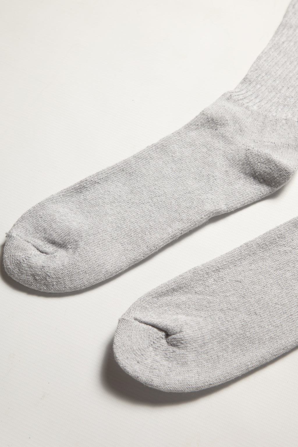 Railroad Sock - 6 Pack Crew Socks - Grey