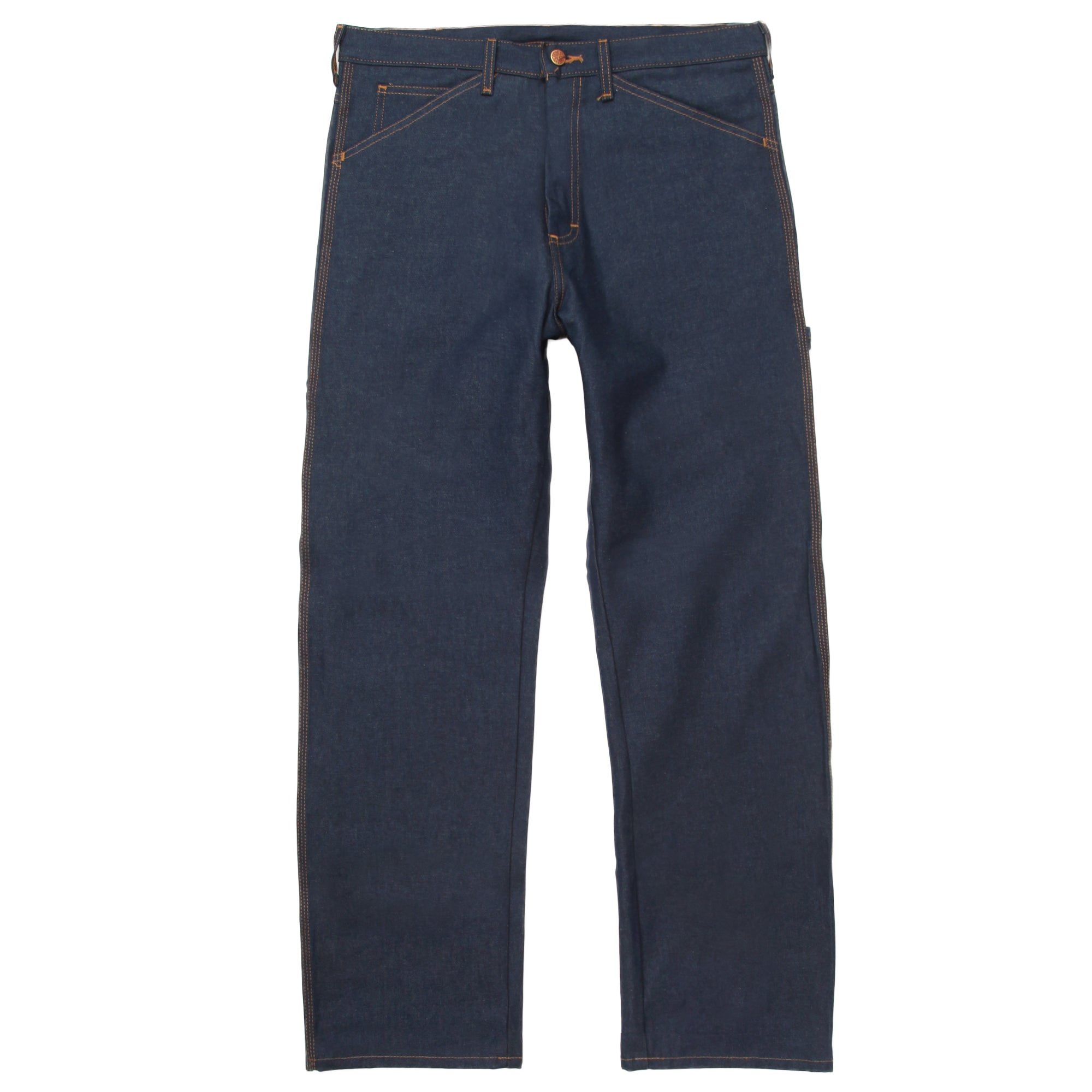 Round House 14oz Carpenter Jeans #101 - Raw Indigo