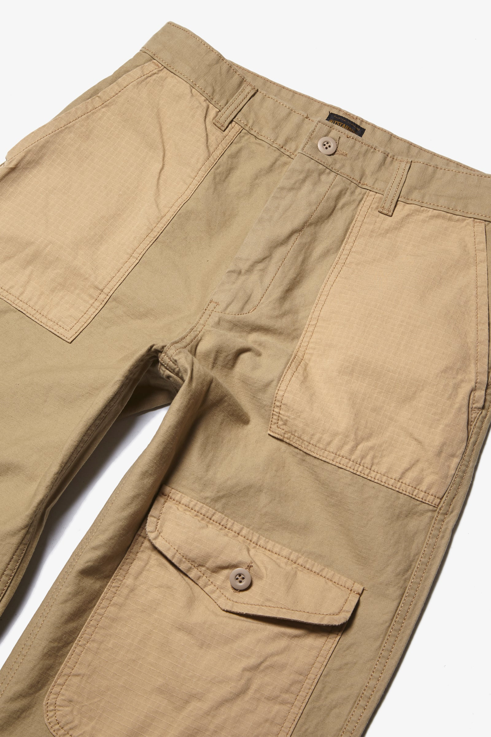 Outstanding & Co. - Fatigue Pocket Pants - Tan
