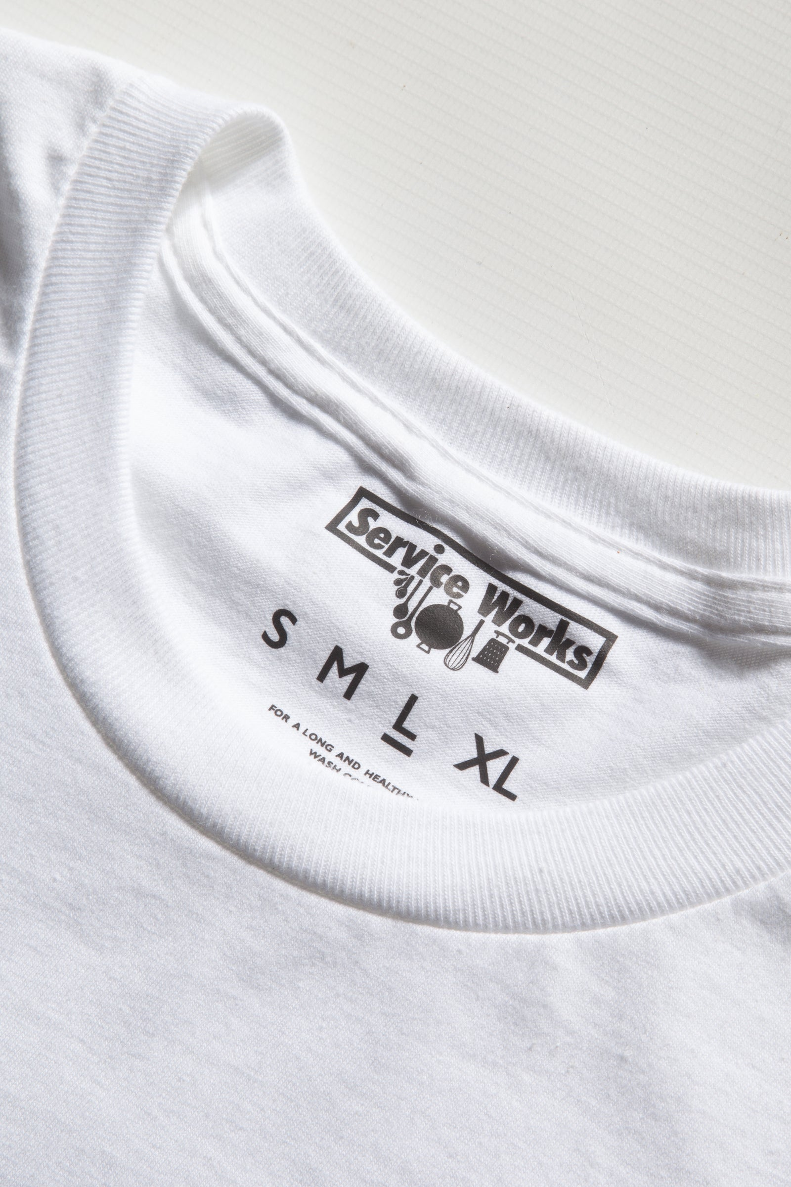 Service Works - Sail Away Tee - White