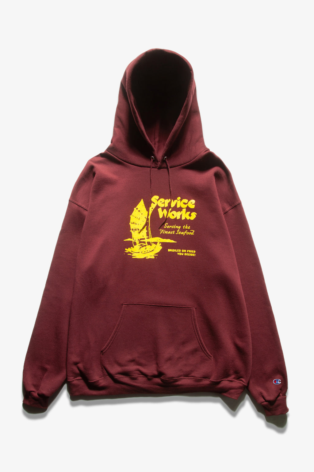 Service Works - Sail Away Hoodie - Burgundy