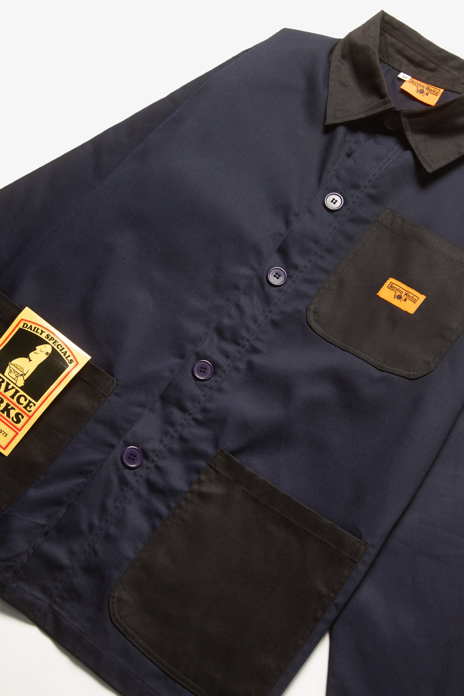 Service Works - Bakers Work Jacket - Midnight