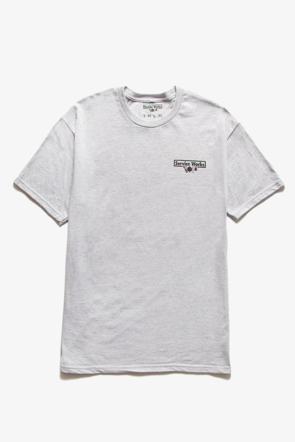 Service Works - Trademark Tee - Heather Grey