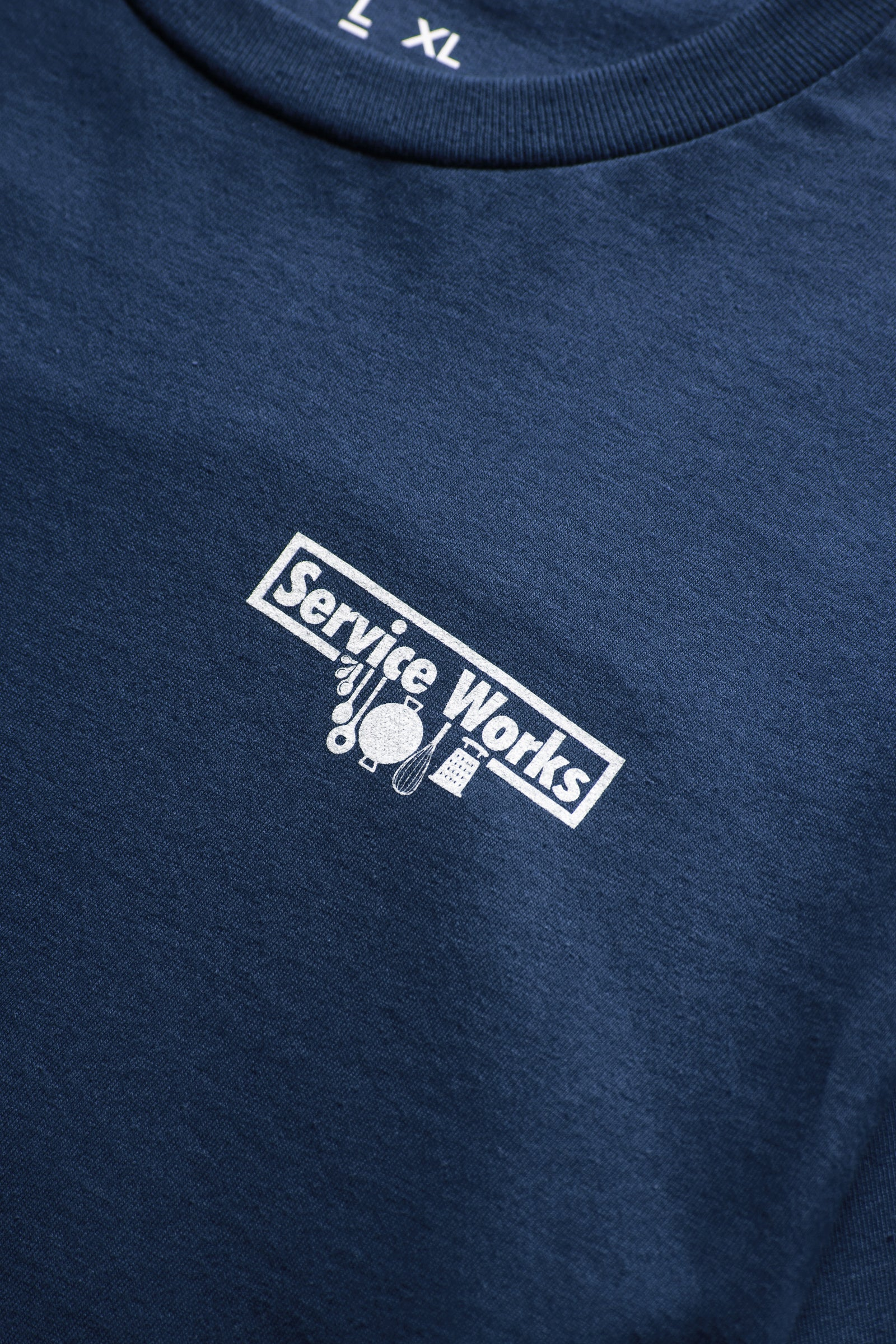 Service Works - Trademark Tee - Navy
