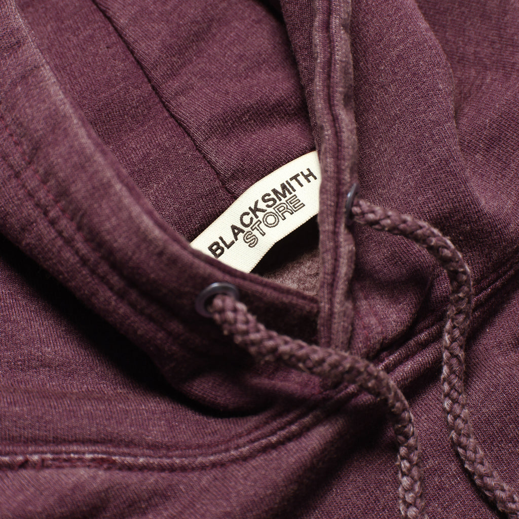 Blacksmith - Sharkbite Hoodie - Burgundy