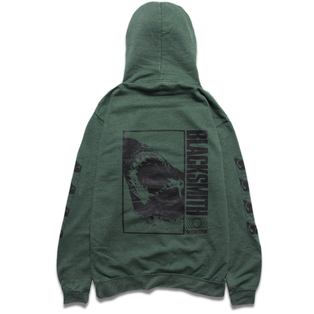Blacksmith - Sharkbite Hoodie - Forest Green