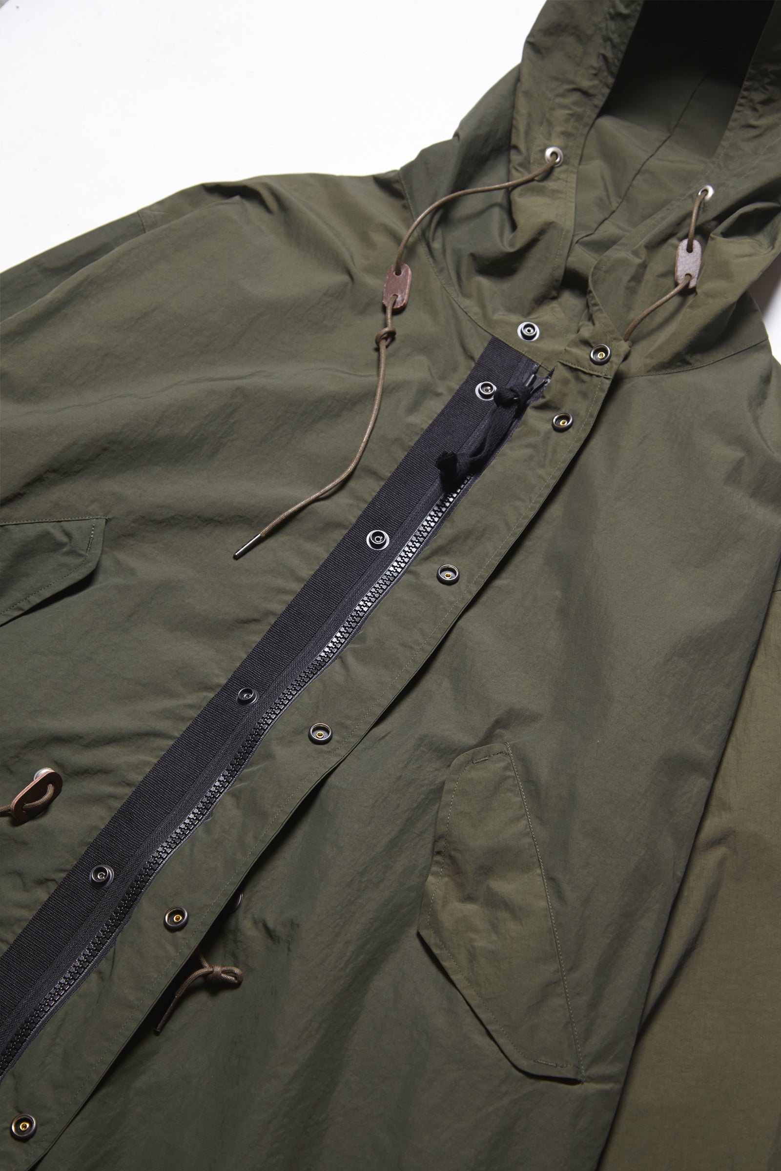 Outstanding & Co. - Nylon Fishtail Parka - Olive