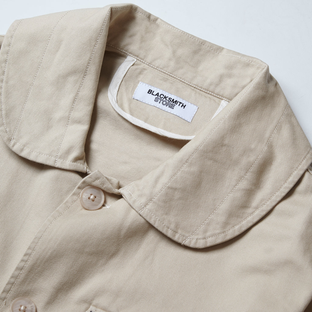 Blacksmith - Shawl Collar Work Jacket - Natural