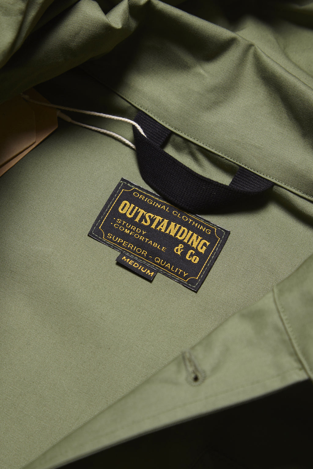 Outstanding & Co. - RAF Short Hooded Parka - Olive