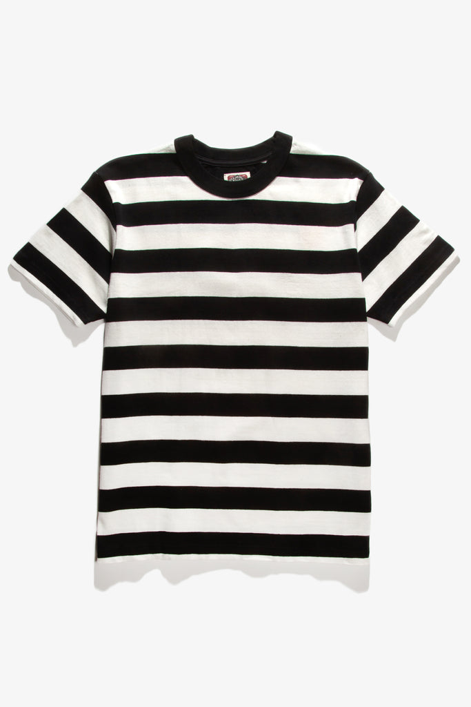 Red Ruggison - Border Short Sleeve T-Shirt - Black/White