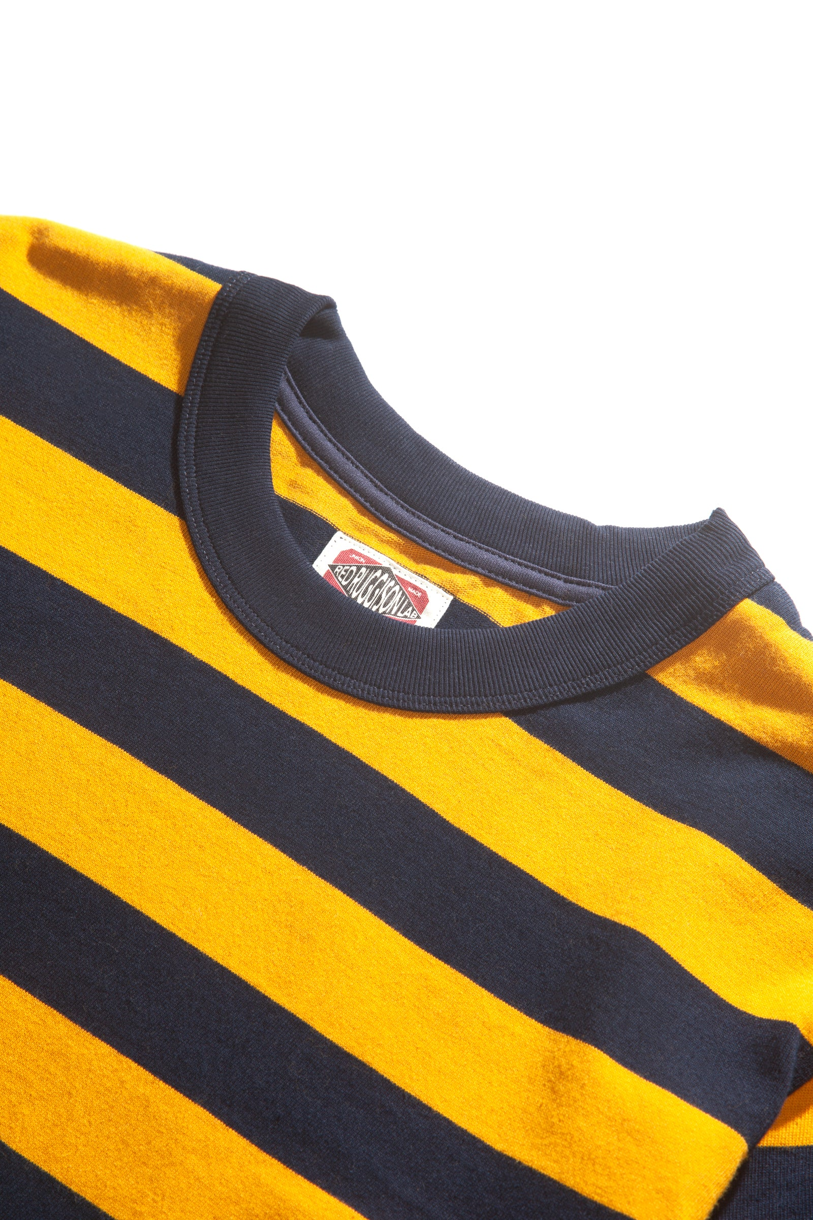 Red Ruggison - Border Short Sleeve T-Shirt - Yellow/Navy