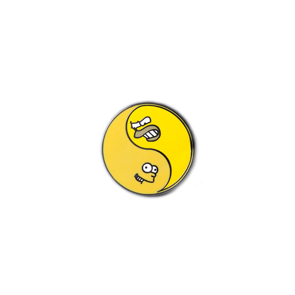 Stugazi - Bart and Homer Yin Yang Pin
