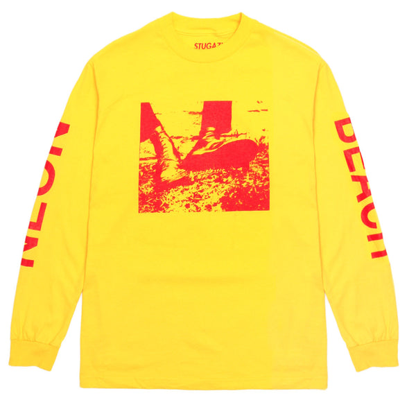 Stugazi - Neon Beach L/S Tee - Yellow