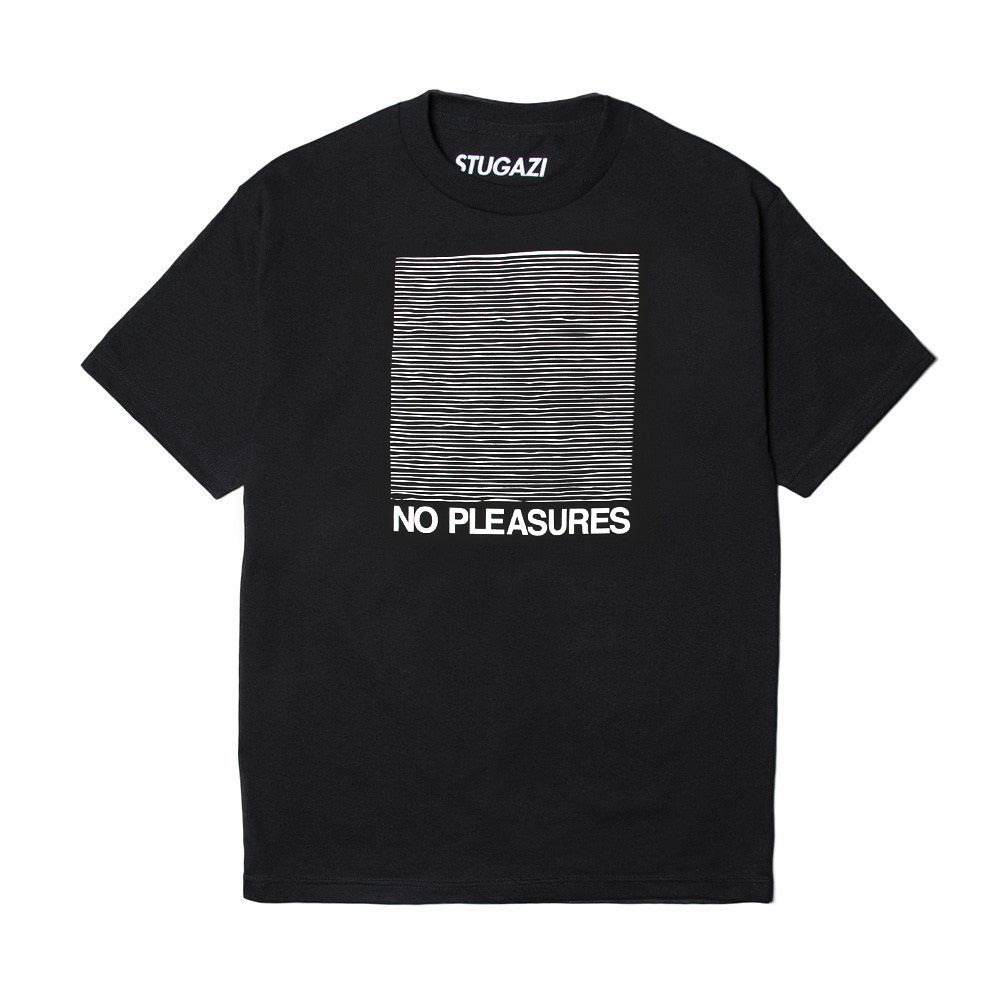 Stugazi - No Pleasures Tee - Black