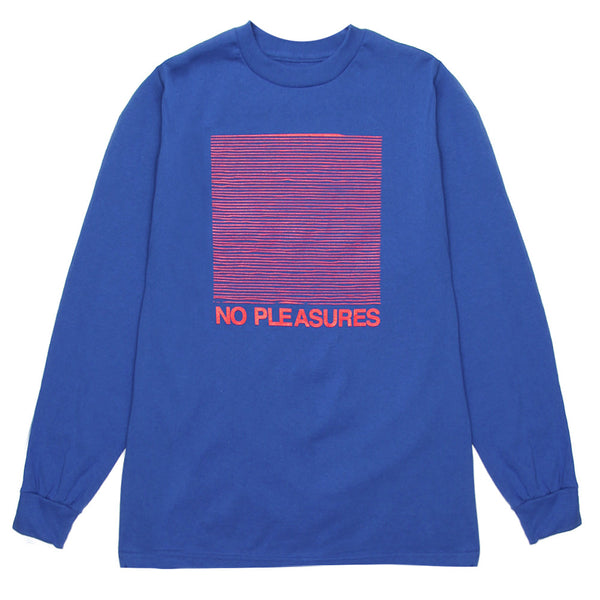 Stugazi - No Pleasures L/S Tee - Blue