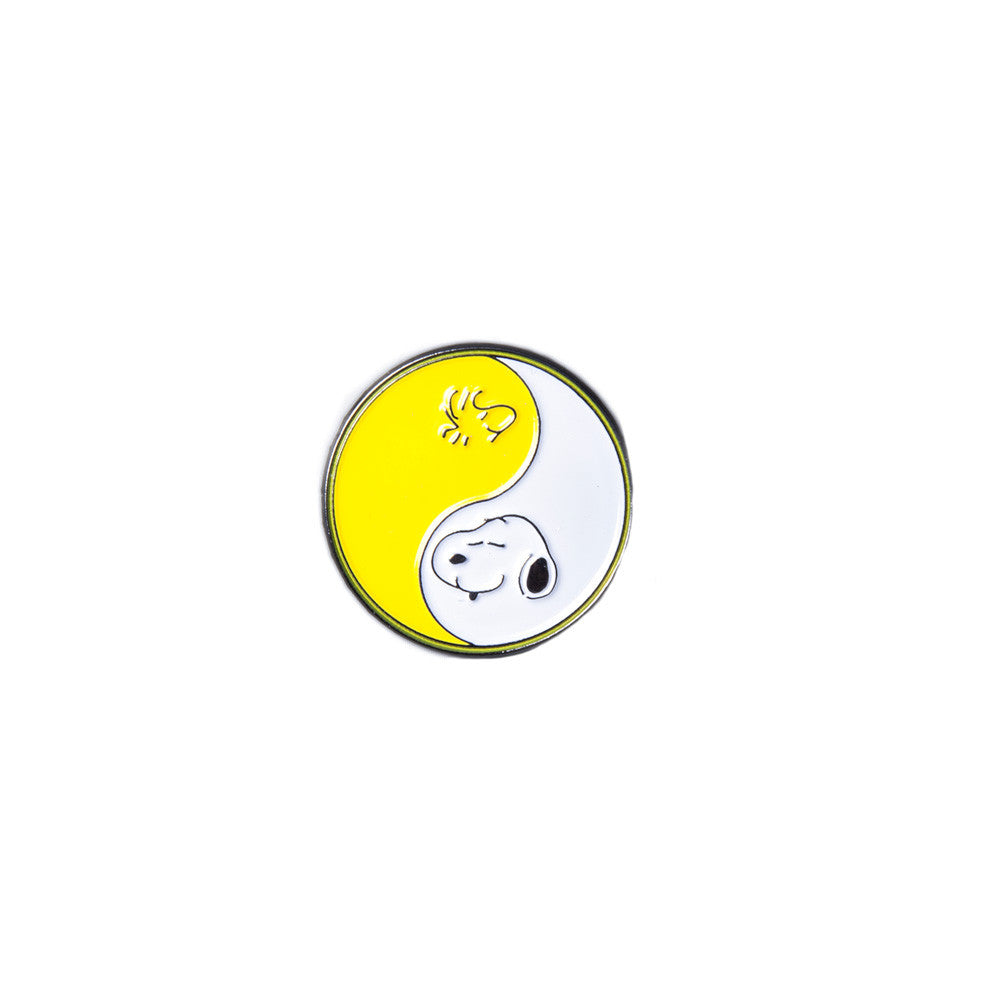Stugazi - Snoopy and Woodstock Yin Yang Pin