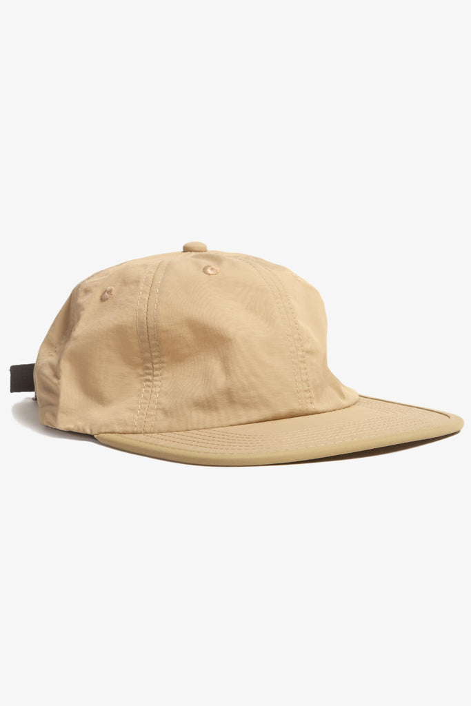 Power House - Perfect Nylon 6-Panel Cap - Tan/Beige