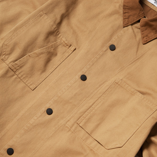 Blacksmith - Canvas Work Jacket - Tan