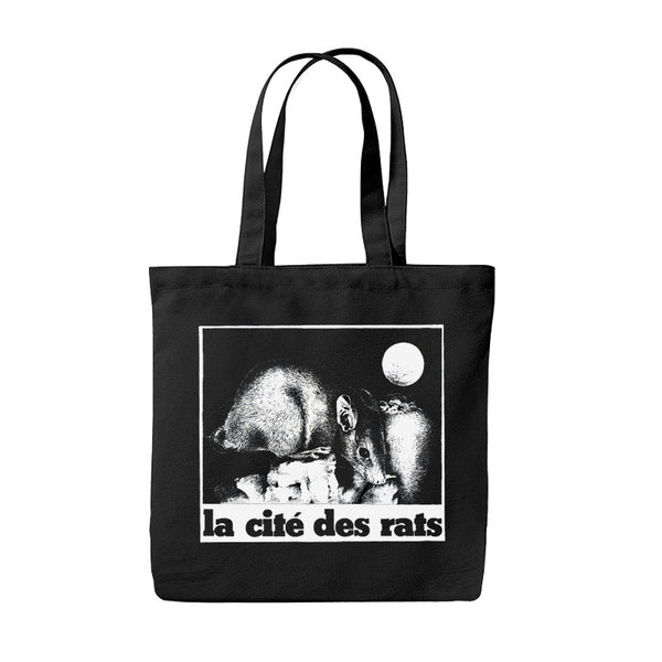 Blacksmith - La Cité Des Rats Tote - Black