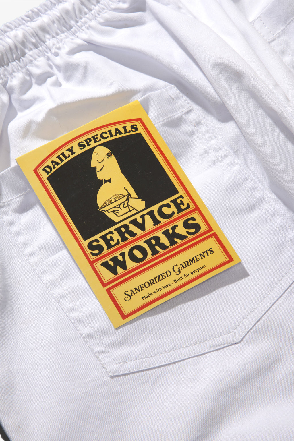 Service Works - Trade Chef Pants - White