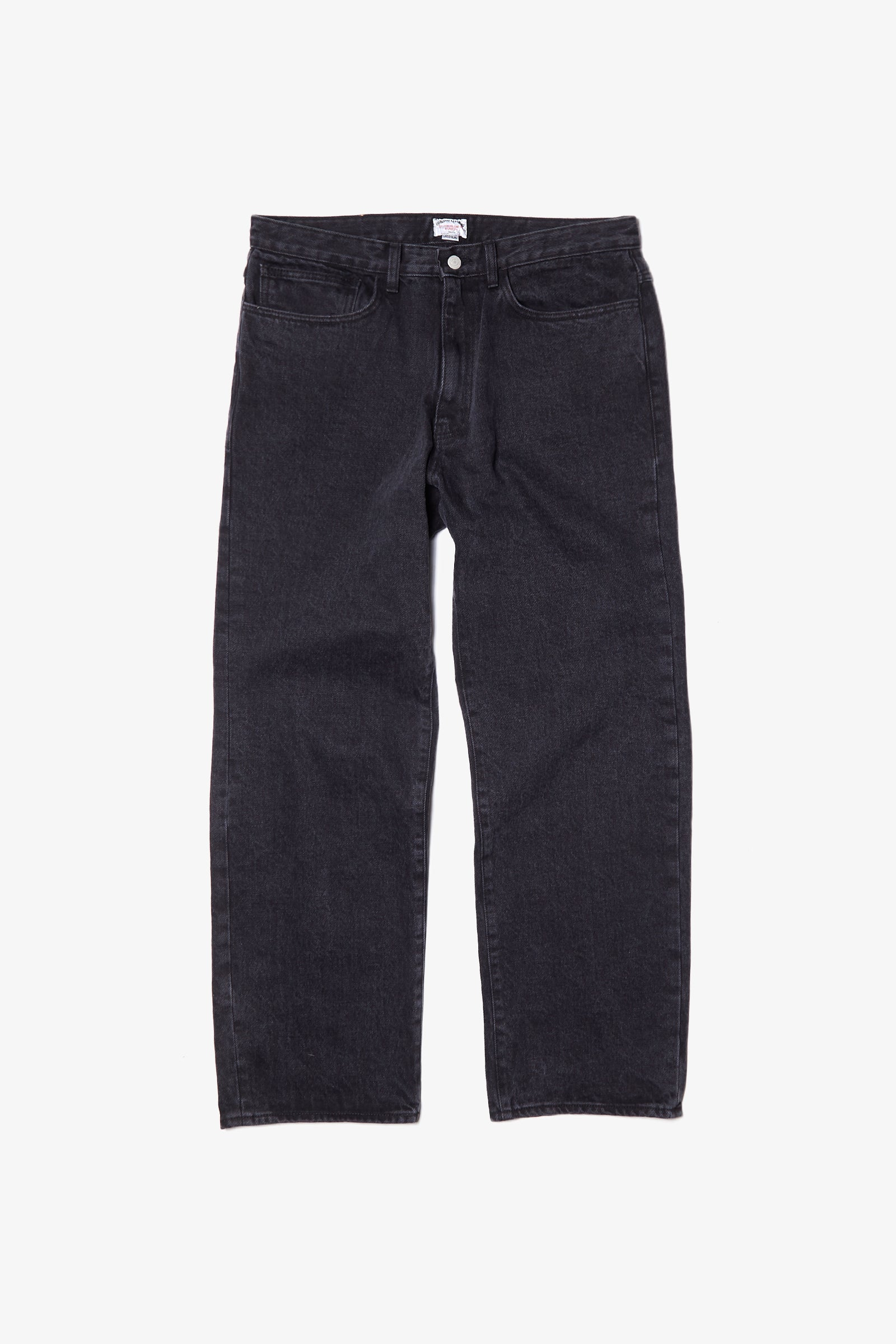 Outstanding & Co. - Wide Washed Jeans - Black