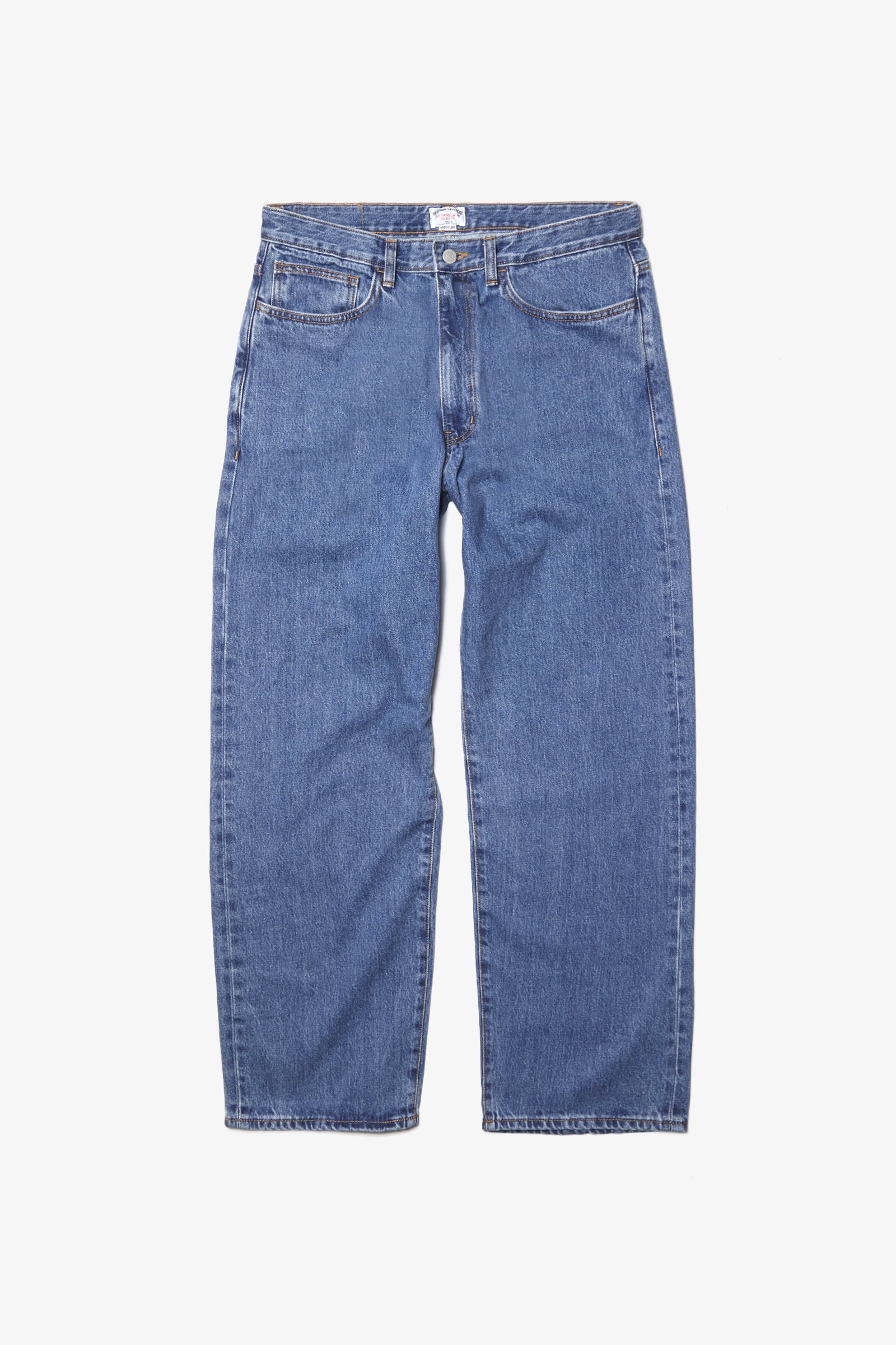 Outstanding & Co. - Wide Washed Jeans - Indigo