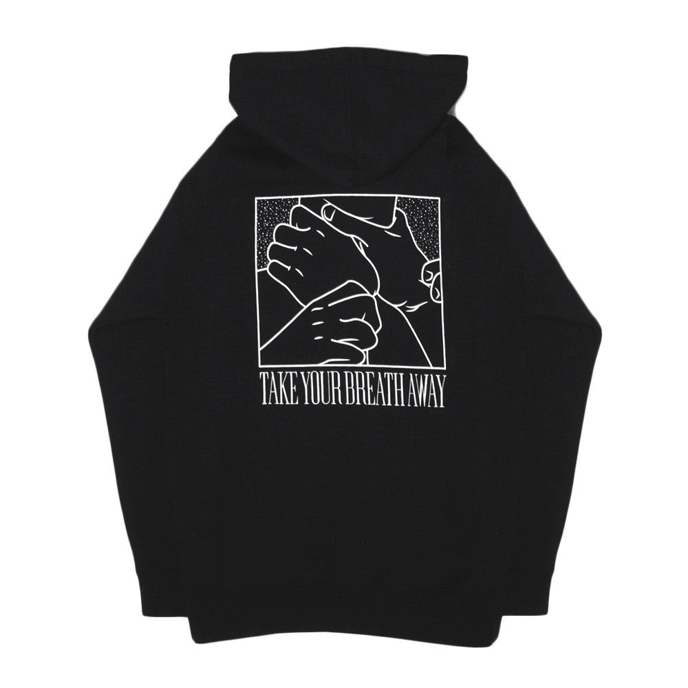Well Fed - Take Your Breath Away Hoodie - Black