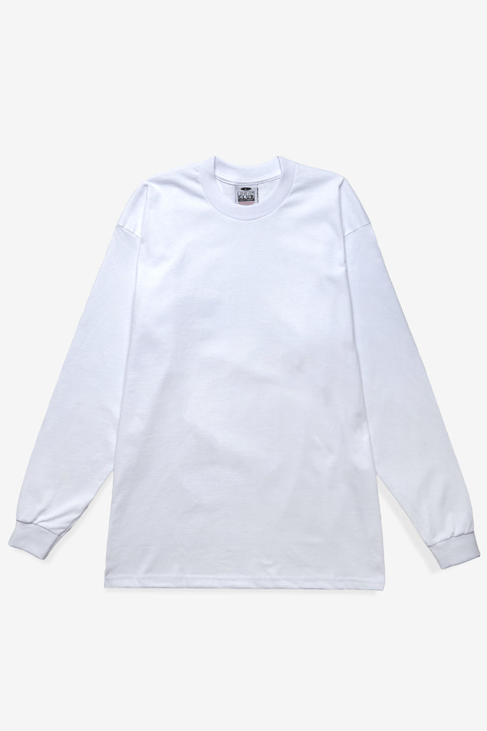 Pro Club - Heavyweight Long Sleeve T-Shirt - White