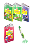 TOUCH AND LEARN-EINSTYLO-EDUCATIONAL BOOKS - COLLECTION OF BOOKS FOR CHILDREN FROM(5-7 YEARS) and SPEAKING PEN.