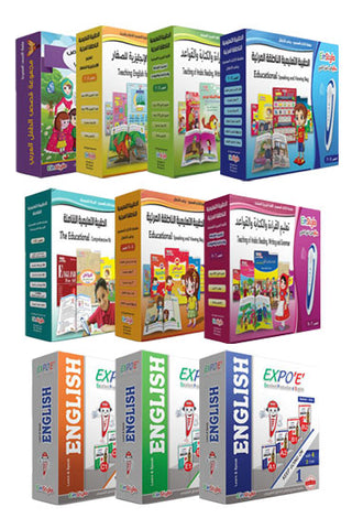 Touch and Learn-Einstylo-Collection of Kits-For Children and Speaking Pen